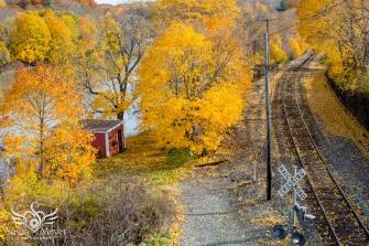 Railroad Along the Hoosic River