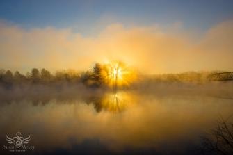 Upper Hudson River Sunrise 26