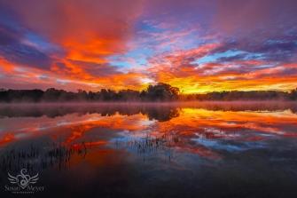 Upper Hudson River Sunrise 7