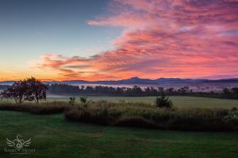 Vermont Mountain Sunrise