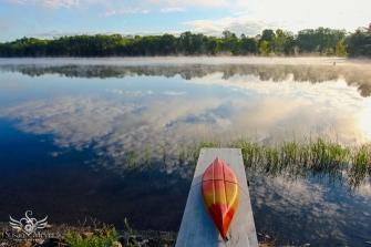 Kayak on the Dock