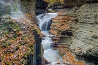 Rainbow Falls Watkins Glen