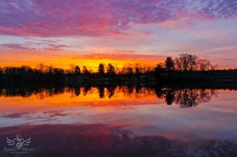Upper Hudson River Sunrise 2