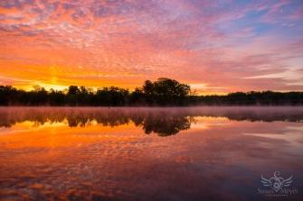 Upper Hudson River Sunrise 22
