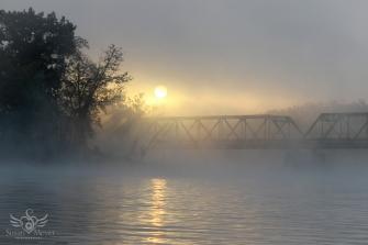 Upper Hudson River Sunrise 30