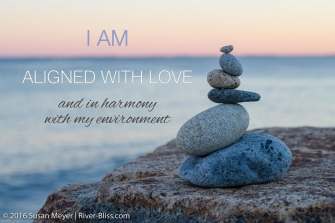 I Am Aligned With Love