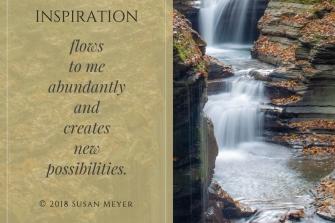 Inspiration flows
