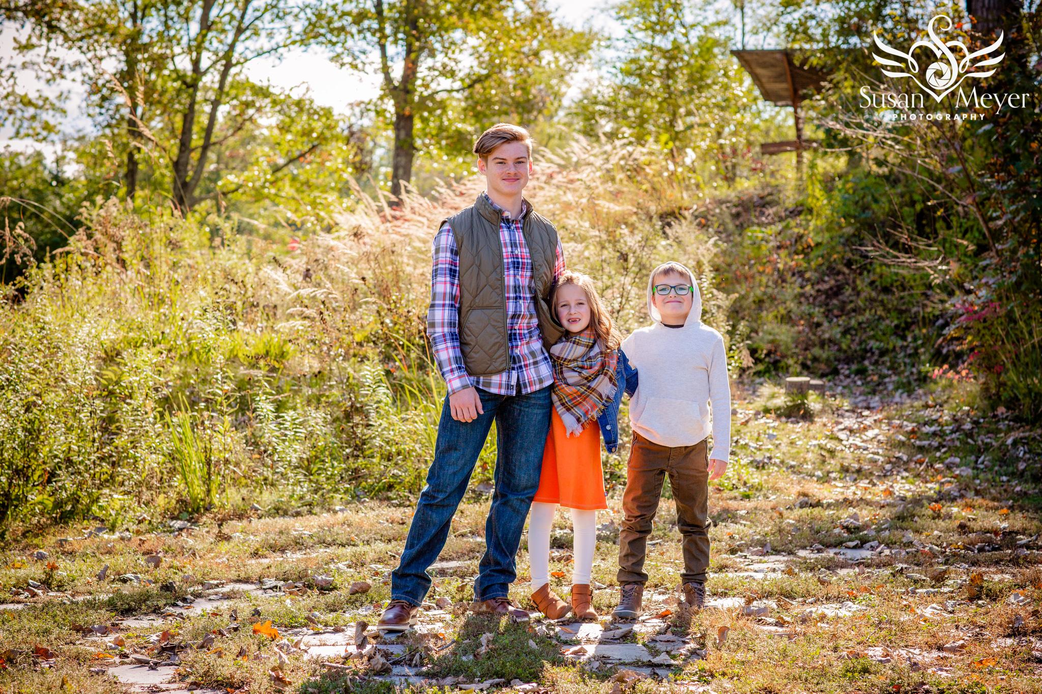 Siblings at Hudson Crossing