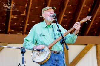 Pete Seeger at Ashokan Late Summer 2013