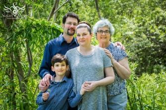 Three Generations Family Portrait 1