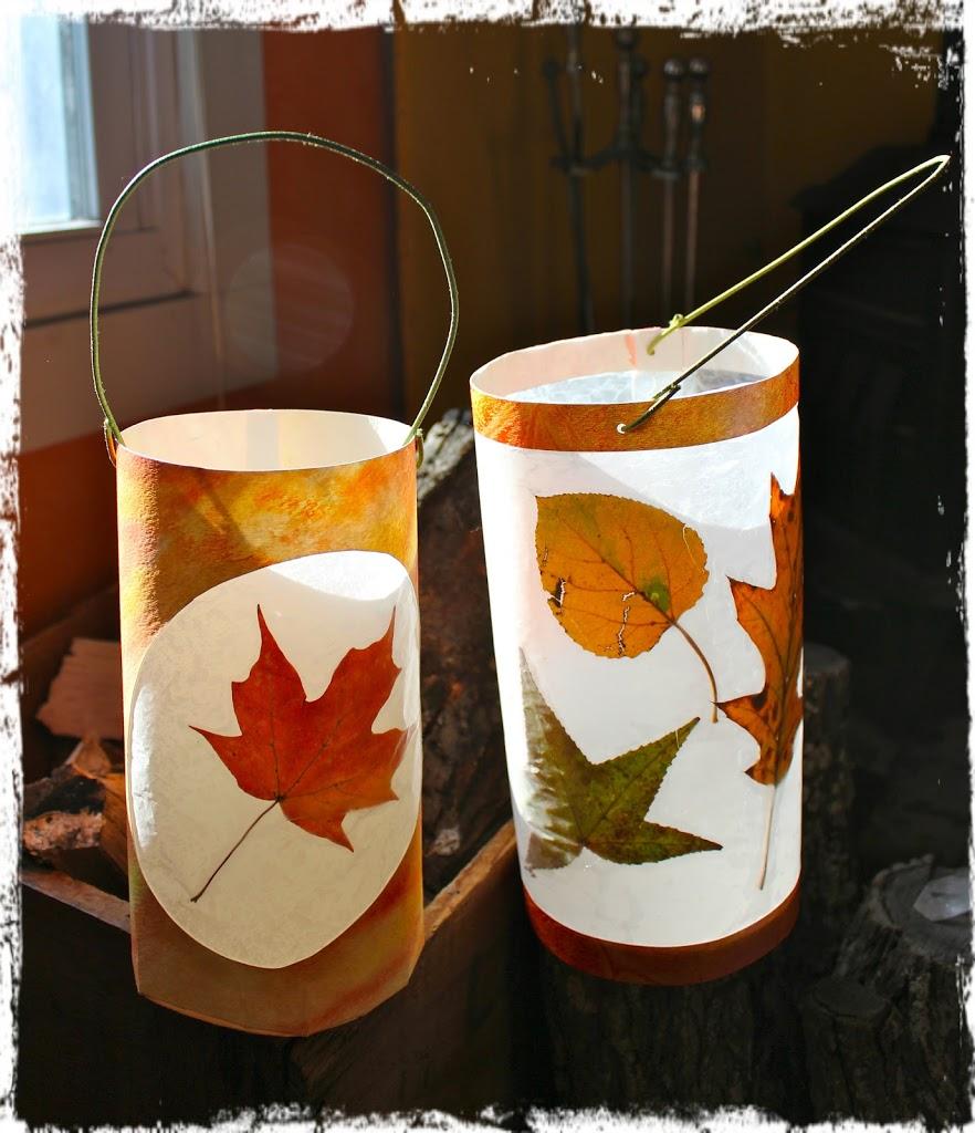 Savoring Light: Leaf Lantern Tutorials