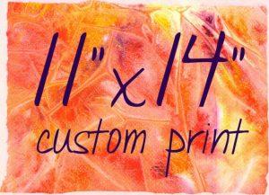Custom Print 11x14