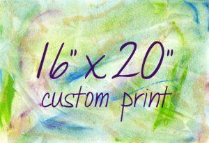 Custom Print 16x20