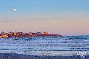 Easton's Beach Moonrise