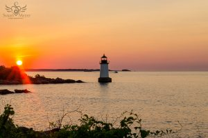 Fort Pickering Lighthouse at Sunrise