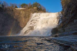 Ithaca Falls Rainbow
