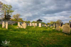 Old Burial Hill Bathed in Golden Light