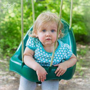 Toddler Swing Portrait
