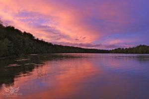 Upper Hudson River Sunset
