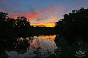 Upper Hudson Sunset