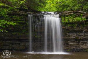 Waterfall at Christman Sanctuary