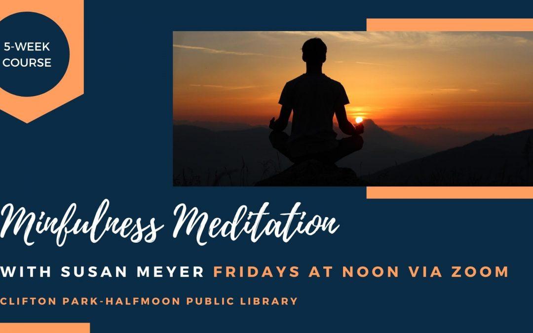 Mindfulness Meditation: Mindful Self-Compassion (Zoom)