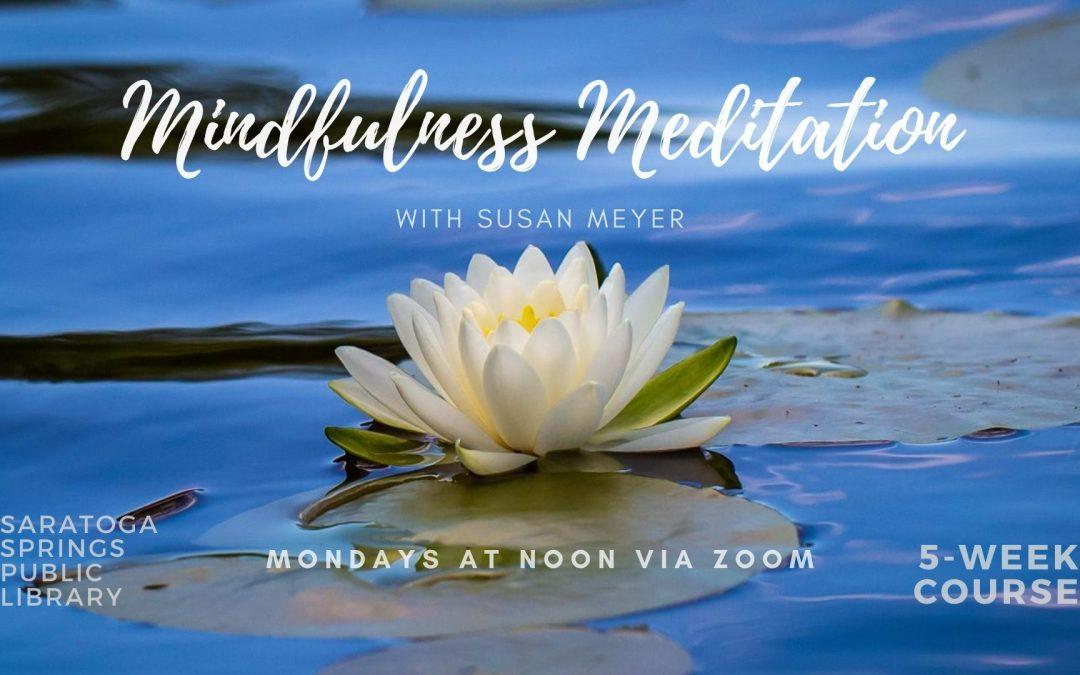 Mindfulness Meditation Series: Cultivating Gratitude (Zoom)