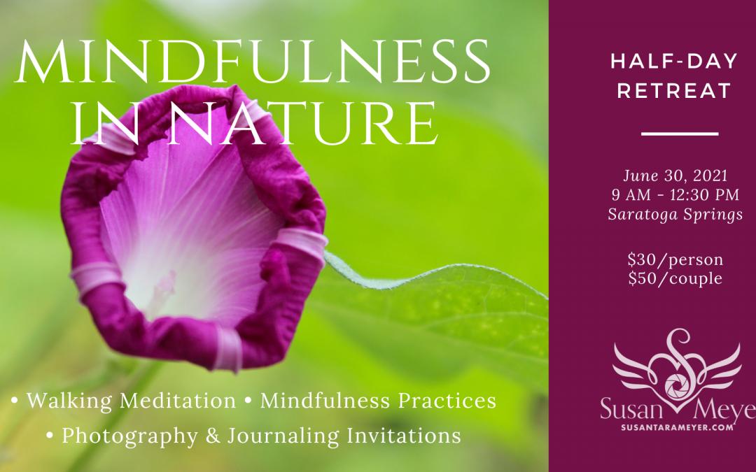 Mindfulness in Nature (Half-Day Retreat)